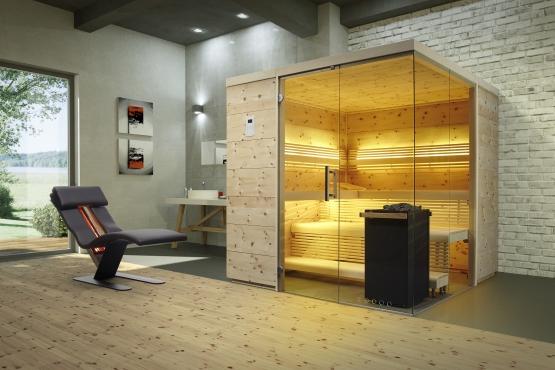 Sauna Zirbenkabine