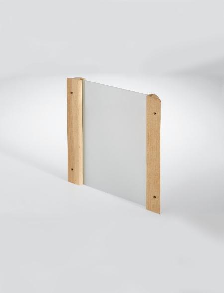 Eckblendschirm Design für Sauna