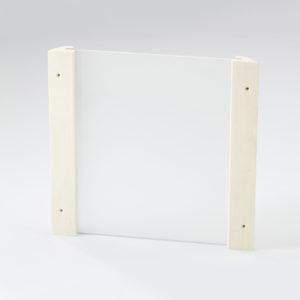 Eckblendschirm Design Mini für Sauna