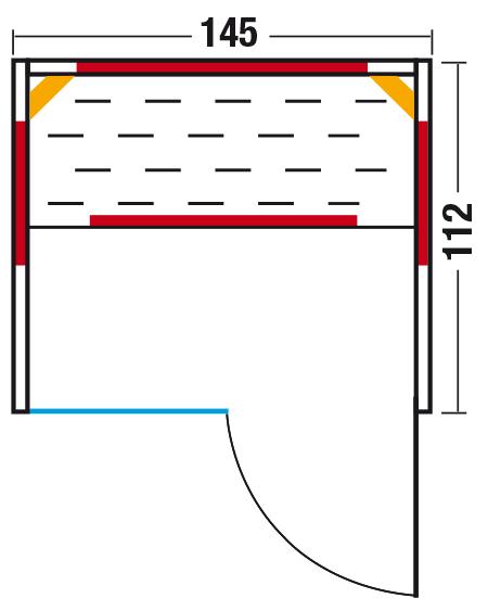 Grundriss Fusion Glas 145