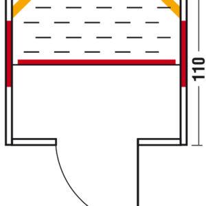 Fusion Rio 145 - Grundriss