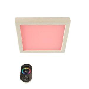 LED-Farblicht Sion 1 A für Deckenmontage mit Fernbedienung