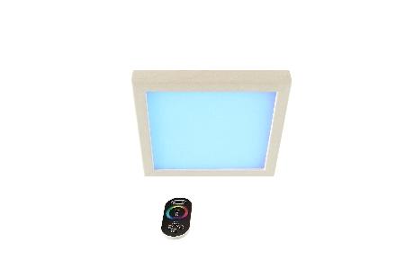 LED-Farblicht Sion 2 A für Deckenmontage mit Fernbedienung
