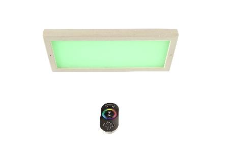 LED-Farblicht Sion 3 A für Deckenmontage mit Fernbedienung