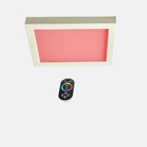 LED-Farblicht Sion 4 A für Deckenmontage mit Fernbedienung