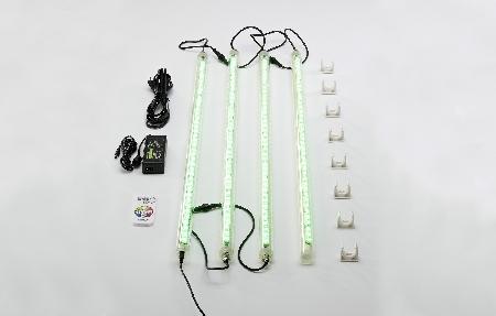 LED-Rückenlehnenbeleuchtung Sphera 1 mit Fernbedienung (Symbolfoto)