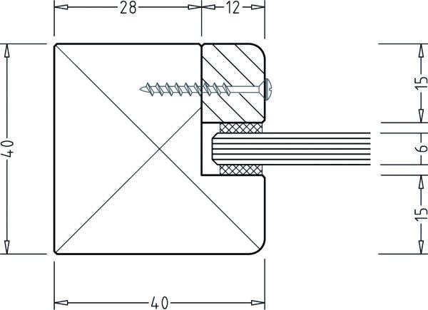 Montage Saunafenster