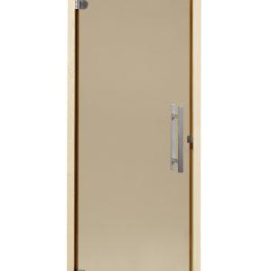 Saunatür Exklusiv 2 B ohne Schwelle bronze