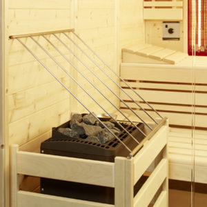 Schutzgitter für Saunaofen