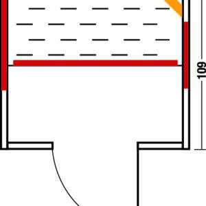 Infrarotkabine Vario 125